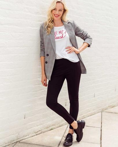 Preppy outfit in British-stijl!